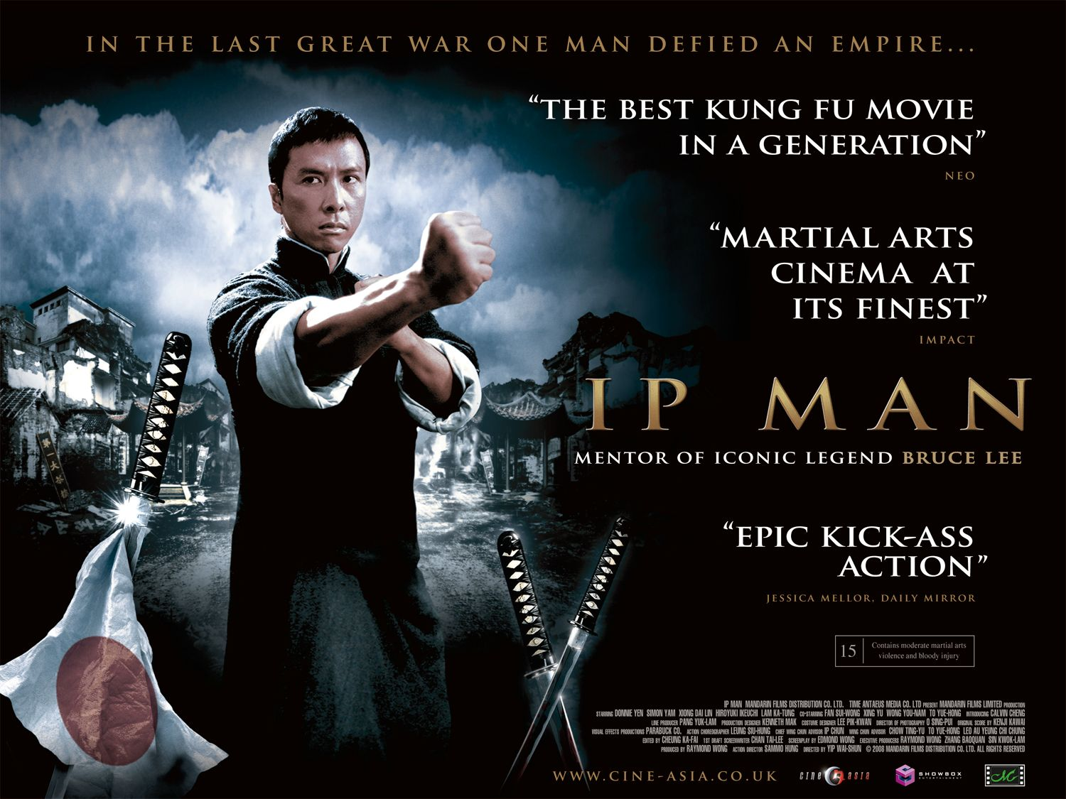 Ip Man is the tale of a period