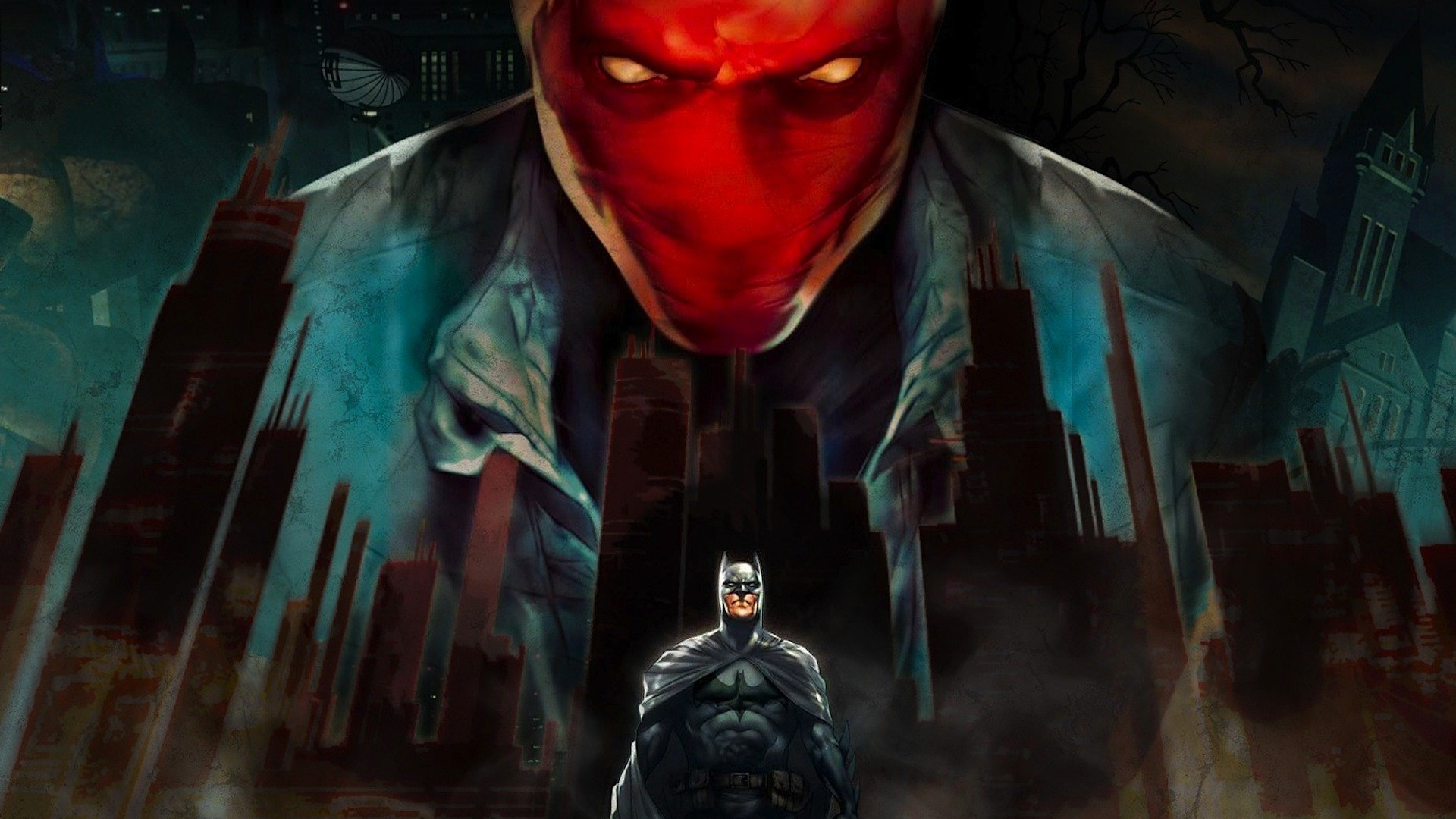 Batman under the red hood is about the time batman picked up a