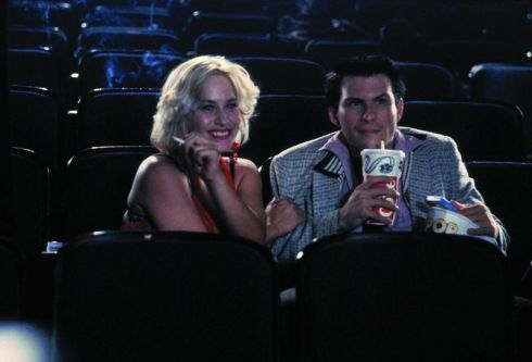 Compare this shot of a scene in a cinema to the cinema scene in Jack & Jill to see how low films are going these days.