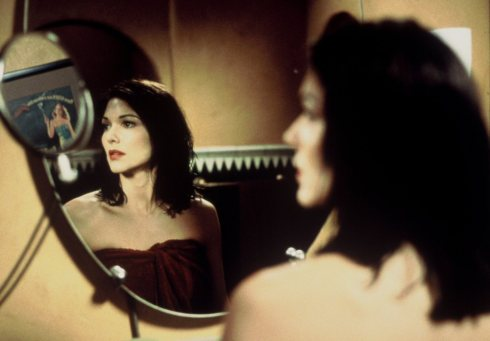 This is one of my favourite single shots ever put to film. Mirrors come up a number of times in Mulholland Drive too.