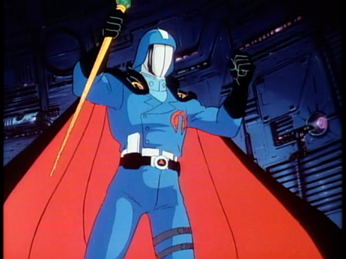 Bofe Cobra Commander and Starscream got a little moment to dress up and both get royally put down. It's like some sort of bad comedy.