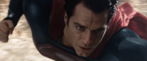 Not depicted: all the dead flies on Superman's face.