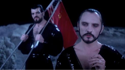 Non and Zod modelling this seasons night club wear.