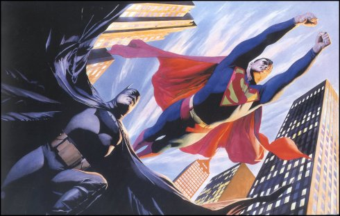 Any excuse for a little Alex Ross artwork