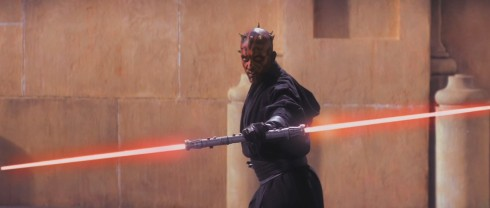 People liked Darth Maul right? Maybe he'll be back as a man with robot legs! Nah, that would be stupid.