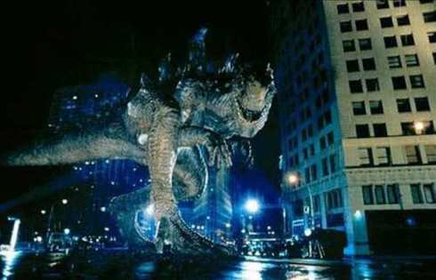 You fucking suck 1998 Godzilla.