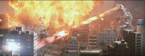 If you watch this film, try to count how many times that same building explodes.