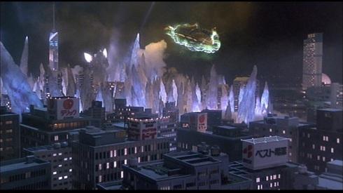 Godzilla is pretty much Spacegodzilla's bitch right here.