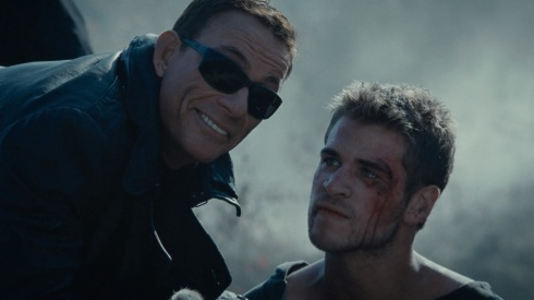 This was a few seconds before JCVD realised that wasn't Thor.