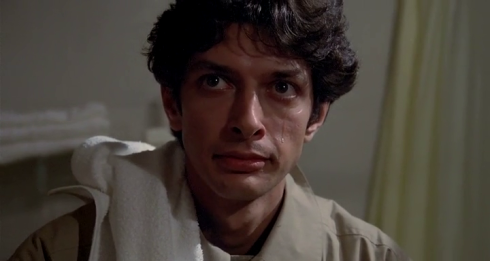 It's kind of amazing how Goldblum like Jeff is already in this film.