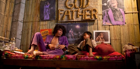 Uncle Purple had a passing interest in the Godfather of Soul.