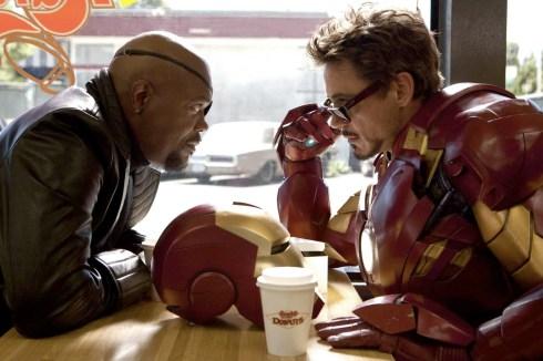 The most secret of superhero meetings.